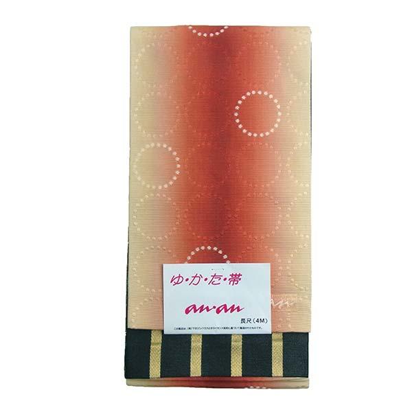 【送料無料】半幅帯 浴衣帯 A28 anan