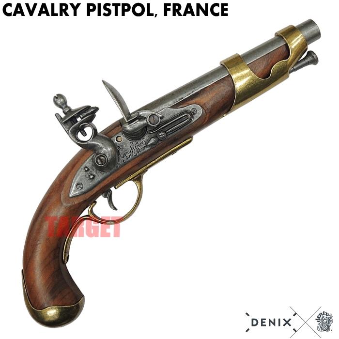 DENIX フリントロック 騎兵ピストル フランス 1011 (デニックス キャバルリーピストル レプリカ)