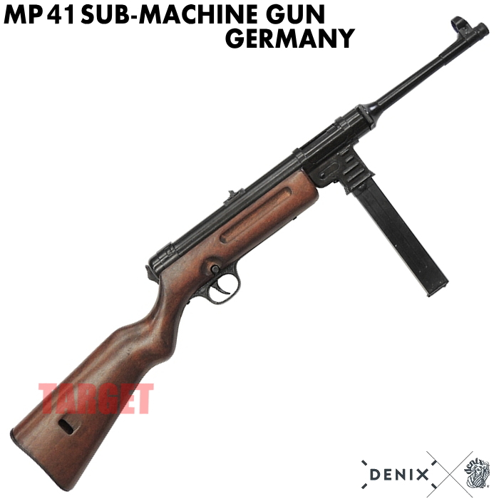 DENIX MP41 ドイツ 1124 (デニックス ハーネル サブマシンガン 短機関銃 第二次世界大戦 レプリカ)