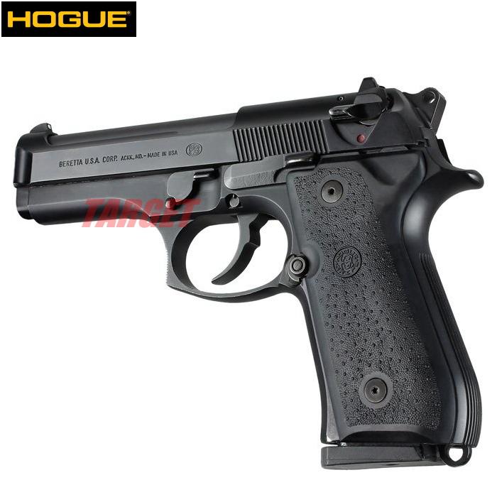 限定品 実物グリップ 売れ筋ランキング エアガン ガスガン モデルガン ミリゲットン HOGUE M92F用 パネル ホーグ ラバーグリップ U.S.M9 M9A1 ベレッタ ドットブラック