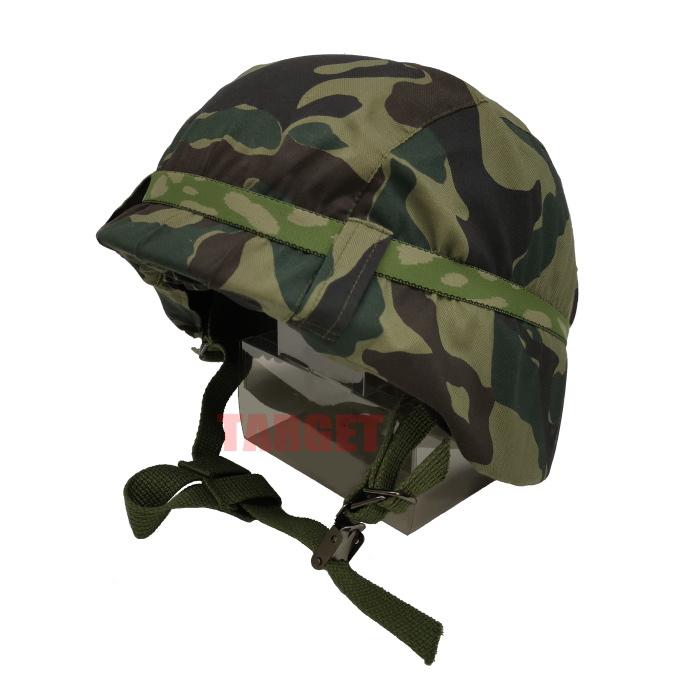 数量限定 陸上自衛隊 旧迷彩 カバー付きヘルメット 鉄帽ゴム付 (鉄帽覆い ヘルメットカバー テッパチ サバゲー)