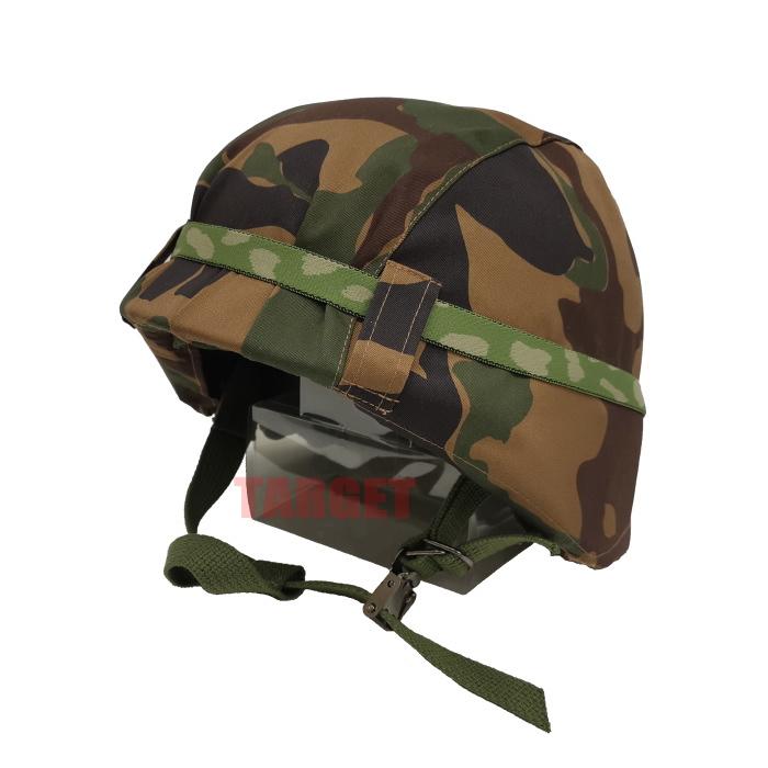 数量限定 航空自衛隊 野戦迷彩カバー付きヘルメット 鉄帽ゴム付 (鉄帽覆い ヘルメットカバー テッパチ サバゲー)