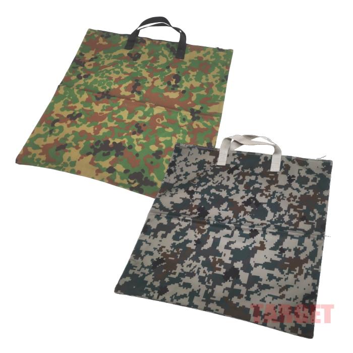 陸上自衛隊迷彩 卸売り JGSDF 航空自衛隊 JASDF ミリゲットン 自衛隊 迷彩柄 トートバッグ ミリタリー デジタル迷彩 出色 陸自迷彩 ファスナー付 手提げ袋 キャンバスバッグ