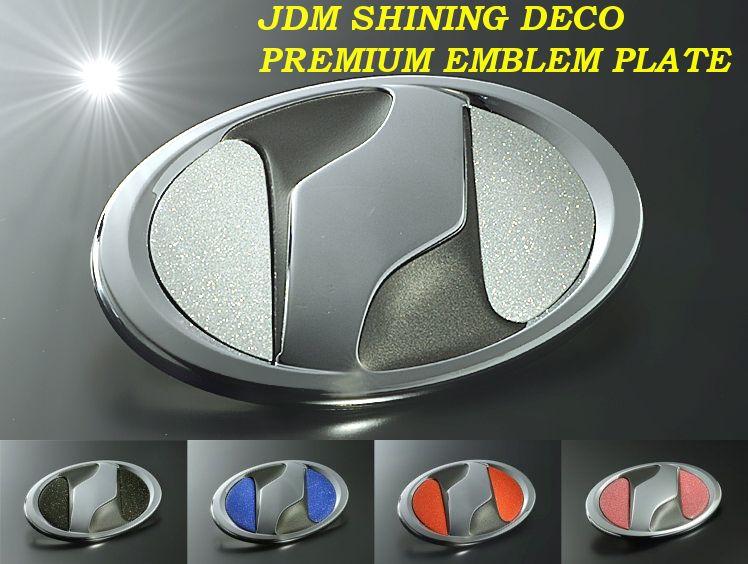 宝石のような輝き JDM シャイニングデコ プレミアムエンブレムプレート ヴォクシー 2014.1~ ZRR80W.ZWR80G 70%OFFアウトレット フロント JEP-NT03 ランキング総合1位 対応 220円 レターパックプラス 耐久性を実現 特殊製法で輝き ゆうパケット 運送便 60サイズ
