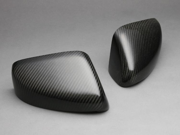 【VISION】 カーボンドアミラーカバー 左右セット CR-Z ZF1用 2010.2~ 簡単装着!【運送便 60サイズ 対応】