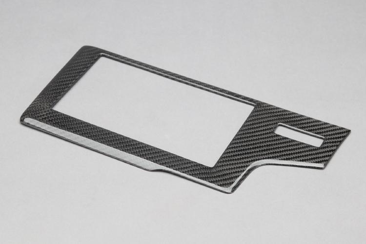 【VISION】 カーボンパーツ オーディオパネル フィットハイブリッド 2013.9~ GP5.6 ※ディーラーオプションのオーディオのみ装着可能 簡単装着!【運送便 60サイズ 対応】