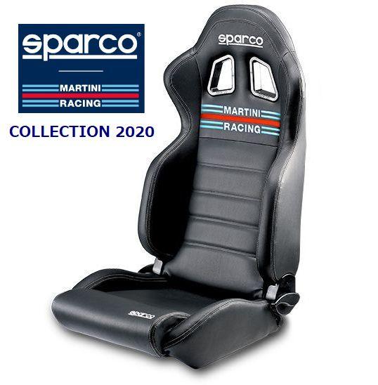 SPARCO/スパルコ リクライニングシート MARTINI RACING R100 SKY ヘリテージコレクション2020(PVC) 品番:00961MRNR ※代引き不可