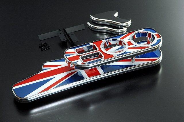 【BUSSELL/バッセル】MINI専用フロントナビテーブル ユニオンジャック BMW ミニ(R59) SY16 ロードスター【運送便 100サイズ 対応】