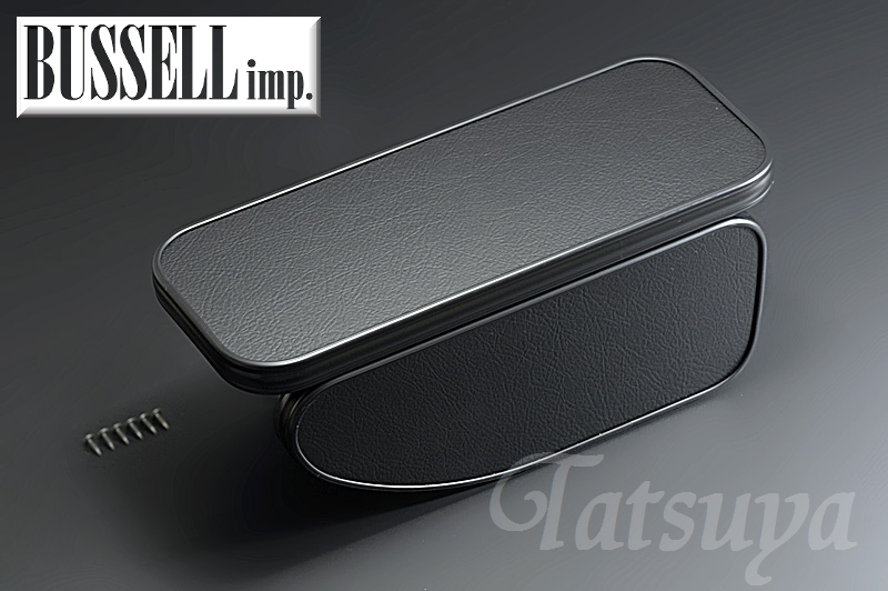 【BUSSELL/バッセル】MINI専用センターアームレスト レザーブラック BMW ミニ(R59) SY16 ロードスター【運送便 100サイズ 対応】