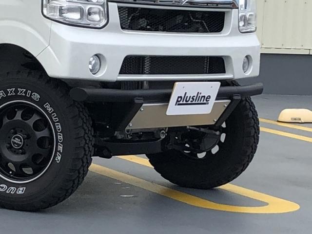 plusline/プラスライン ハイスタイル エブリィワゴン/バン DA17W.V フロントガードバー ※代引き不可 特殊送料