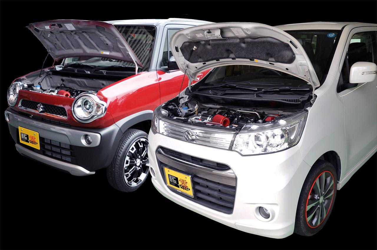 ZERO-1000/零1000 パワーチャンバー K-Car ハスラー DBA-MR31S R06A(ターボ)用 2014.1~【運送便 100サイズ 対応】