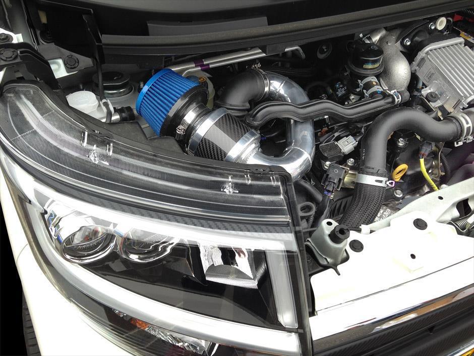 驚異のインテークシステム ZERO-1000 零1000 パワーチャンバー K-Car ムーヴカスタムRS DBA-LA150S 運送便 100サイズ ターボ用 対応 大人気! 激安超特価