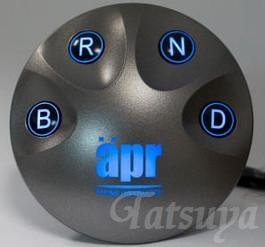 【apr】エレクトロニック・シフトスイッチ7 プリウス ZVW30 2009.5~ 30系プリウス用のシフトスイッチに※代引き不可【運送便 60サイズ 対応】