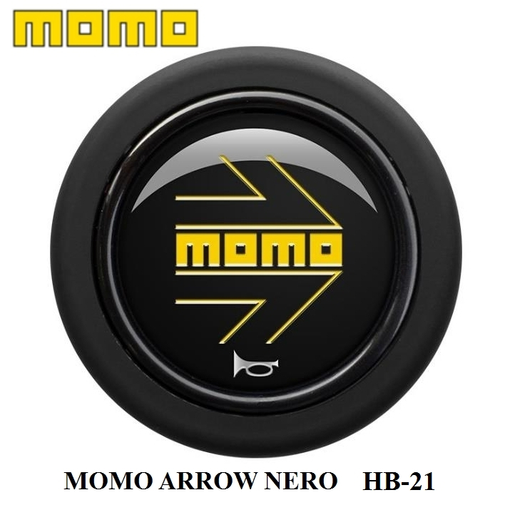 MOMOの正規品! 【正規品】MOMO ホーンボタン HB-21 MOMO ARROW NERO(モモ アロー ネオ)センターリングなしステアリング専用ホーンボタン 【ゆうパケット 300円/運送便 60サイズ 対応】
