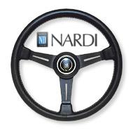 NARDI CLASSIC [クラシック] ブラックレザー&ブラックスポーク 360mm〔N130〕【運送便 100サイズ 対応】