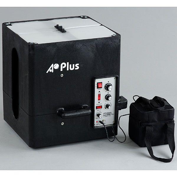 プラスボールマシン AC電源・ポータブルバッテリーモデル(オートマ充電器付、首振り機能を標準装備)AP-PLUS-AC-PO