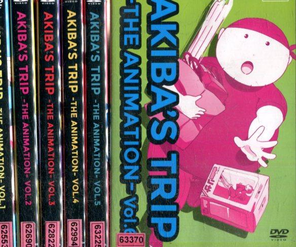 AKIBA'S TRIP THE ANIMATION【全6巻セット】【中古】【アニメ】中古DVD