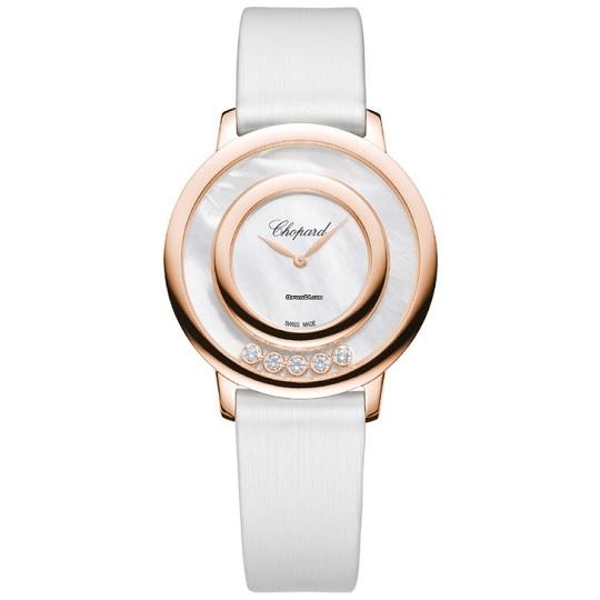 ショパール Chopard ハッピーダイヤモンド ダイヤ5石 0.25ct レディース腕時計 209429-5103 30%OFF