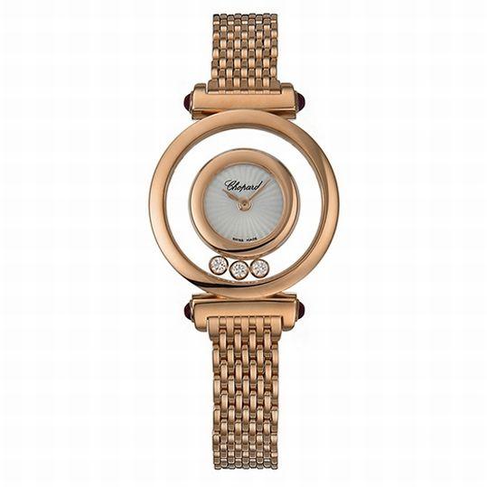 ショパール Chopard ハッピーダイヤモンド ゴールド レデイース腕時計 204780-5401