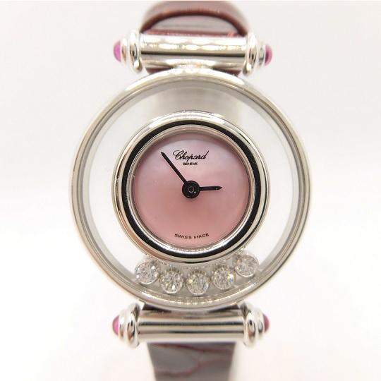 ショパール Chopard パッピーダイヤモンド レディース腕時計 204780-1014 新品・正規品(国際保証書請求はがき有)