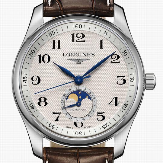 LONGINES Master Collection ロンジン マスターコレクション メンズ 腕時計 革ベルトL2.909.4.78.3 L316