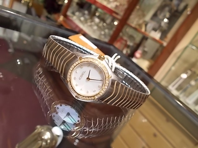 【正規品/商品】エベル/WAVEレディー1E1215403/腕時計/女性/レディース/Lady's/時計/ウオッチ/うでどけい/watch/高級/ブランド
