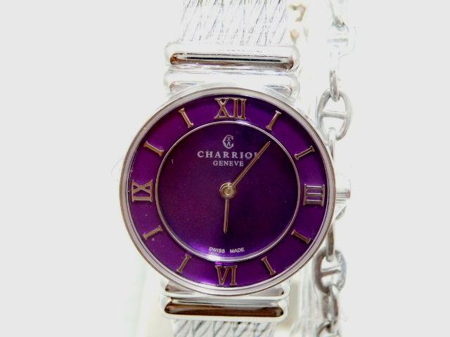 シャリオール CHARRIOL サントロぺ レディース腕時計 028SPI.540.553