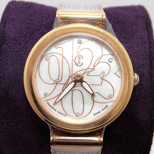 シャリオール CHARRIOL FOREVER レディース 腕時計 FE32.102.002