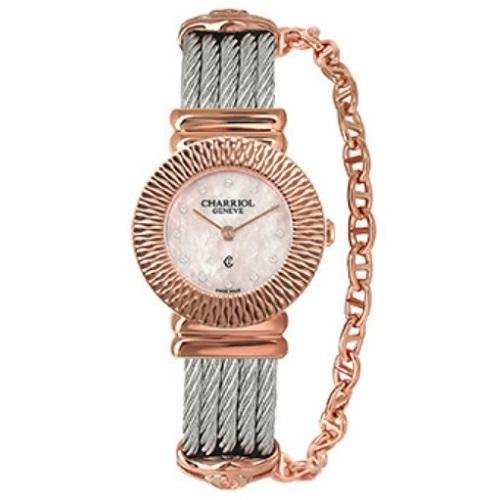 シャリオール CHARRIOL ST-TROPEZ Art Deco レディース腕時計 028IP.540.462