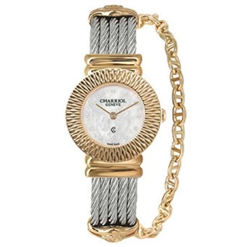 シャリオール CHARRIOL ST-TROPEZ Art Deco レディース腕時計 028IY.540.356