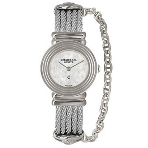 シャリオール CHARRIOL ST-TROPEZ Art Deco レディース腕時計 028LS.540.326