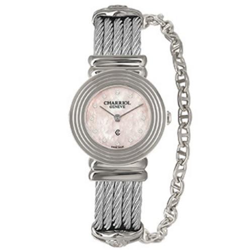 シャリオール CHARRIOL ST-TROPEZ Art Deco レディース腕時計 028LS.540.462