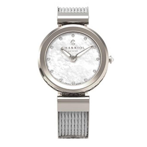 シャリオール CHARRIOL FOREVER WATCH レディース腕時計 FE32.101.000