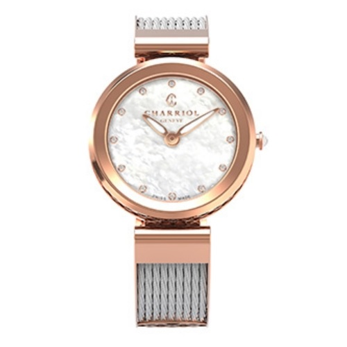 シャリオール CHARRIOL FOREVER WATCH レディース腕時計 FE32.102.005