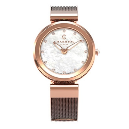 シャリオール CHARRIOL FOREVER WATCH レディース腕時計 FE32.602.005