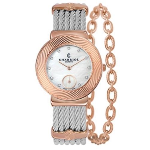 シャリオール CHARRIOL ST-TROPEZ Sunray レディース腕時計 ST30FP.560.023