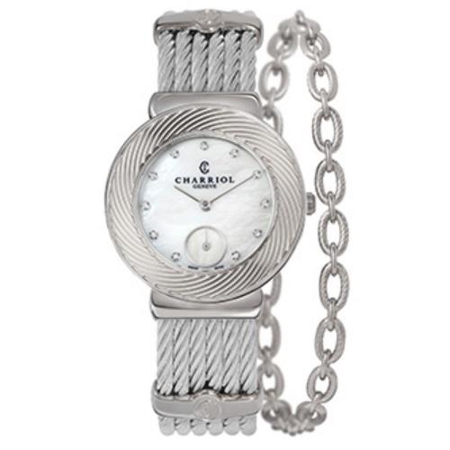 シャリオール CHARRIOL ST-TROPEZ Sunray レディース腕時計 ST30FS.560.016
