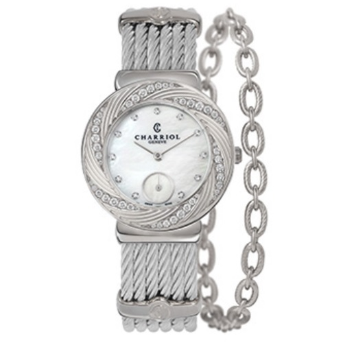 シャリオール CHARRIOL ST-TROPEZ Sunray レディース腕時計 ST30FSD.560.016