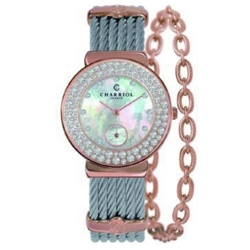 シャリオール CHARRIOL ST-TROPEZ 30 レディース腕時計 ST30PBD.560.023
