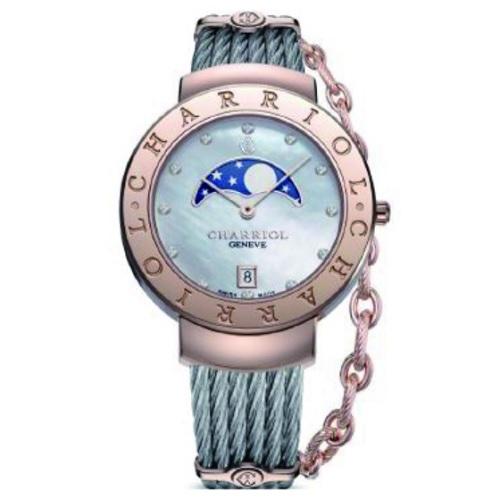 シャリオール CHARRIOL ST-TROPEZ 35 レディース腕時計 ST35CP.560.010