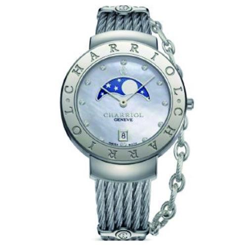 シャリオール CHARRIOL ST-TROPEZ 35 レディース腕時計 ST35CS.560.008
