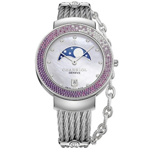 シャリオール CHARRIOL ST-TROPEZ 35 レディース腕時計 ST35SD6.560.008