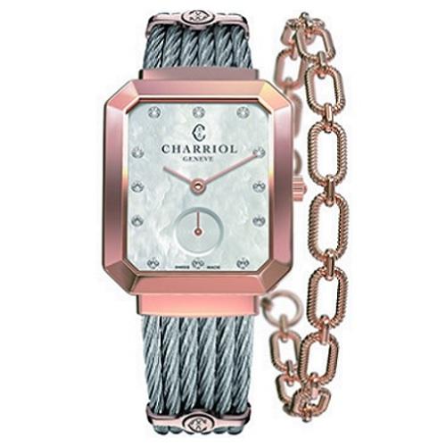 シャリオール CHARRIOL ST-TROPEZ マンサール レディース腕時計 STREP.560.001
