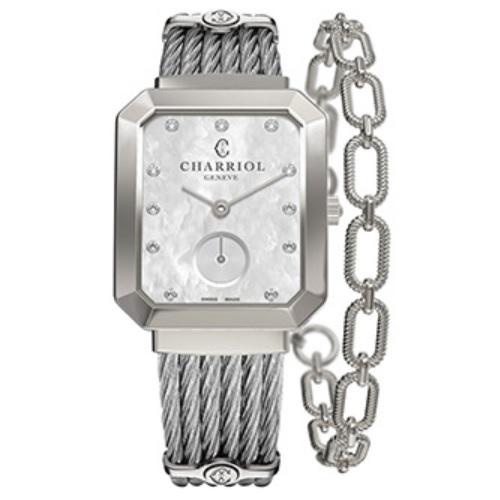シャリオール CHARRIOL ST-TROPEZ マンサール レディース腕時計 STRES.560.001