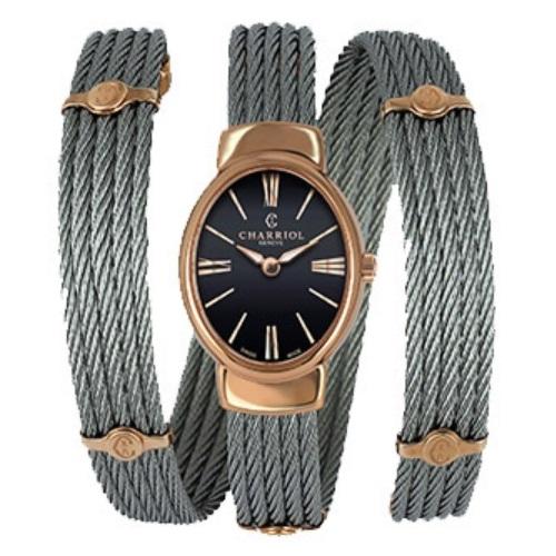 シャリオール CHARRIOL TWIST レディース腕時計 TWOP.510.O03