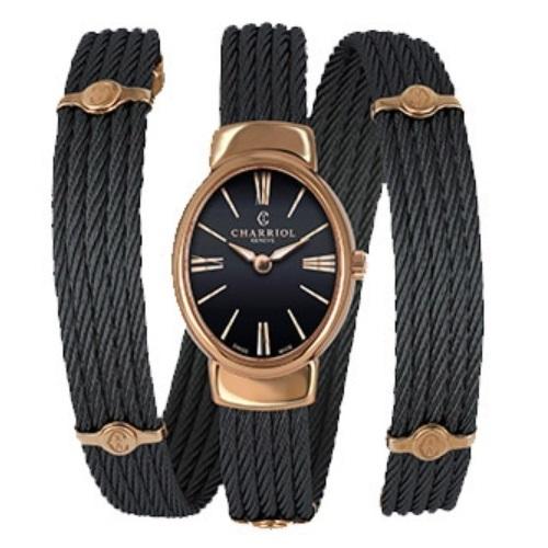 シャリオール CHARRIOL TWIST レディース腕時計 TWOP.515.O03