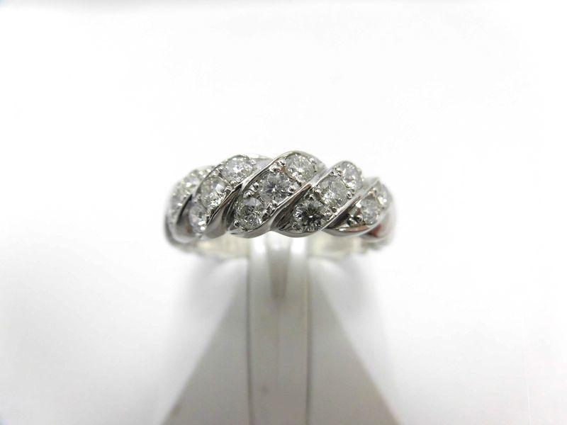 K18WGダイヤリング/D0.70ct/T14/リング/ダイヤモンドリング/指輪/ゆびわ/ring/ジュエリー/ダイヤ/女性用/レディース/プレゼント/ギフト/お買い得/オススメ/送料込み/宝石