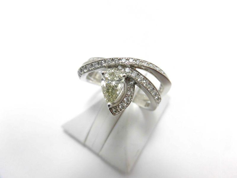 PTダイヤリング/D0.52ct 0.35ct/SI2/G525/リング/ダイヤモンドリング/指輪/ゆびわ/ring/ジュエリー/ダイヤ/女性用/レディース/プレゼント/ギフト/お買い得/オススメ/送料込み/宝石