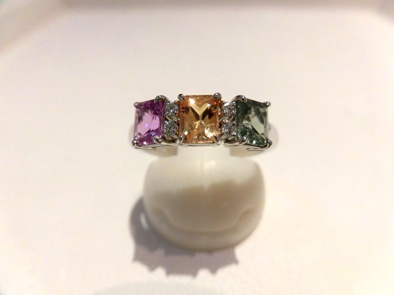 PTサファイアダイヤリング F6247/E5.15ct D0.06ct/ダイヤモンドリング/指輪/ゆびわ/ring/ジュエリー/ダイヤ/女性用/レディース/プレゼント/ギフト/お買い得/オススメ/送料込み/宝石