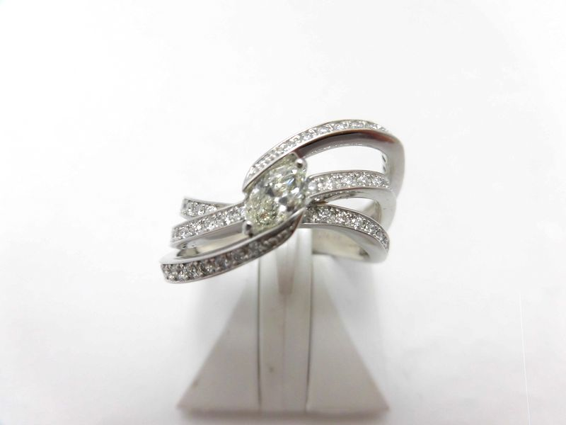 PTダイヤリング/マーキスD0.31ct 0.31ct SI1/F9952/ダイヤモンドリング/指輪/ゆびわ/ring/ジュエリー/ダイヤ/女性用/レディース/プレゼント/ギフト/お買い得/オススメ/送料込み/宝石